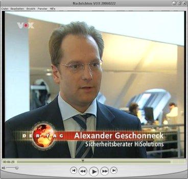 Alexander Geschonneck on TV